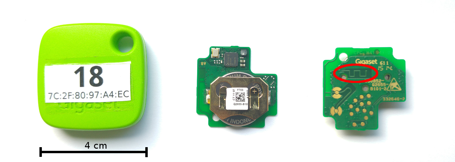 Gigaset Bluetooth Beacons
